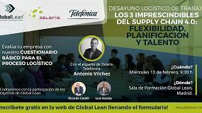 Foto de Invitación al evento Supply Chain 4.0 con Global Lean y Zeleris