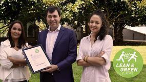 Foto de CHEP España recibe el premio Lean & Green