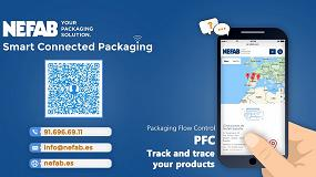 Foto de Nefab Packaging Flow Control, inteligentes y conectados
