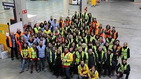 Foto de Eroski y DHL SC 2013: Cero Accidentes en el centro logístico