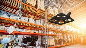 Foto de Solución dron de Hardis en L'Oréal para realizar el inventario en tiempo real