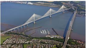 Foto de Cimentaciones especiales para el Puente Atirantado Queensferry Crossing sobre el Estuario del Forth en Edimburgo (Reino Unido)