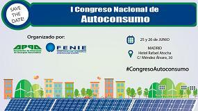 Foto de Appa y Fenie ponen en marcha el I Congreso Nacional de Autoconsumo