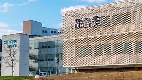 Foto de El tejido cerámico Flexbrick en el nuevo centro de dialisis de Toulouse (Francia)