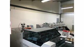 Foto de Imprimerie Prouteau adquiere la primera cosedora embuchadora Hohner HSB 9000 en Francia