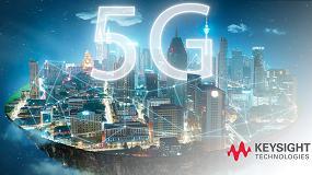Foto de Keysight y MediaTek: primera demostración de llamada de datos 5G NR mediante el módem multimodo Helio M70