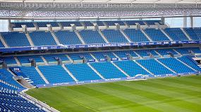 Foto de Daplast, presente en la reforma del Estadio de Anoeta