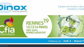 Foto de Dinox participa en CFIA Rennes