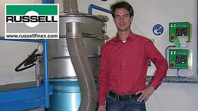 Foto de Tamizar productos muy finos: metales y químicos