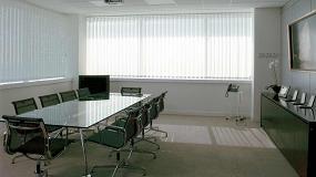 Foto de Screenprotectors by Copaco incide en el papel de los tejidos técnicos en estancias públicas