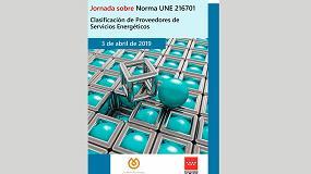 Foto de Jornada sobre Norma UNE 216701 Clasificación de Proveedores de Servicios Energéticos