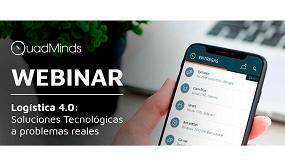 Foto de QuadMinds presenta su webinar sobre tecnológica para Logística 4.0