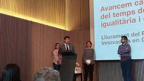 Foto de Unión de Mutuas, premio Empresa Innovadora en Conciliación y Tiempo del Ayuntamiento de Barcelona
