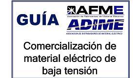 Foto de Campaña de concienciación de Adime y Afme sobre la seguridad del material eléctrico
