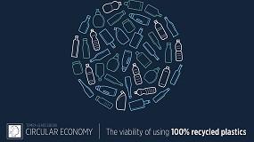 Foto de Tomra Sorting Recycling publica un e-book que analiza la viabilidad de usar plástico 100% reciclado