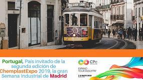 Foto de Portugal, País invitado de la segunda edición de ChemplastExpo 2019