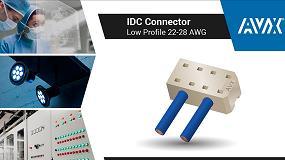 Foto de AVX presenta sus IDC Connectors de la serie 9176-800
