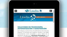 Foto de Lindis presenta su nuevo portal corporativo