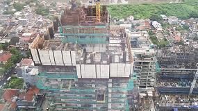Foto de Ulma participa en el proyecto de construcción del rascacielos más alto de Indonesia, Thamrin Nine