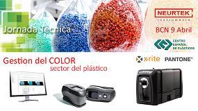 Foto de Neurtek organiza la jornada técnica 'Gestión del color en la industria del plástico' en Barcelona