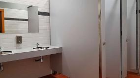 Foto de Gabarró presenta diferentes casos prácticos de sus cabinas sanitarias para equipamientos