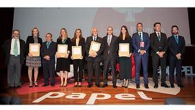 Foto de Luis Mateo Díez, Lidl, Nintendo, Loewe y la Fundación Pepitamola, Premios Valores del Papel 2019