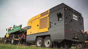 Foto de Atlas Copco aumenta la eficacia de los compresores DrillAir con motores diésel que cumplen los requisitos de la norma Stage V