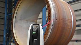 Foto de Hexagon presenta el escaneado 3D de gran alcance con el primer Scanning Láser Tracker