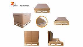 Foto de DS Smith Tecnicarton diseña un embalaje de cartón plegable para exportación más resistente