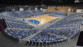 Foto de Daplast suministra asientos CR4 en grada de hormigón y A2 en telescópicas en el Glaz Arena