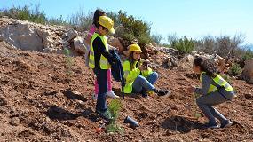 Foto de Más de 700 niños de la Comunitat Valenciana participan en el XII Día de los Árboles, los Áridos y la Biodiversidad