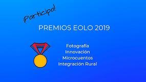 Foto de Ampliado el plazo para presentarse a los Premios Eolo 2019 de AEE