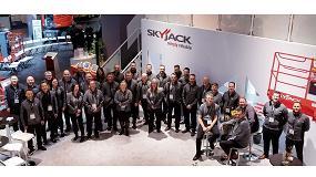 Foto de Skyjack exhibió sus nuevos modelos y tecnologías en Bauma 2019