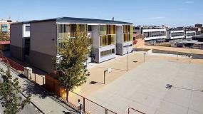 Foto de Experiencia ECCN en la rehabilitación del colegio público 'El Garrofer', en Viladecans