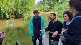 Foto de El proyecto Libera da otro paso más y pone en marcha un estudio piloto para la caracterización de microplásticos en ríos