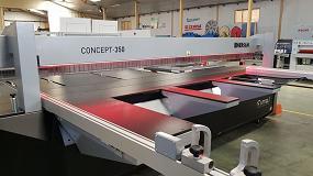 Foto de Hersan presenta la nueva escuadradora seccionadora Fimal Concept 350 2.0