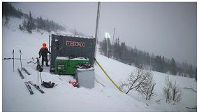 Foto de Energía de emergencia Inmesol en el Campeonato Mundial de Esquí Alpino 2019