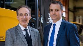 Foto de Entrevista a Alexandre y Henri Marchetta, CEO y presidente del Grupo Mecalac