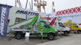 Foto de Multitel Pagliero presentó tres nuevos modelos de plataformas en Bauma