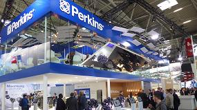 Foto de Perkins mostró sus nuevas tecnologías híbridas en tres motores durante Bauma 2019