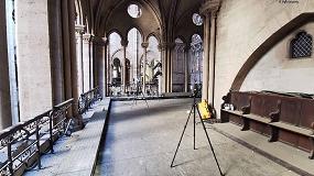 Foto de Faro Focus S, utilizado en la reconstrucción de Notre-Dame