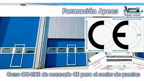 Foto de Apecs organiza un curso online de Marcado CE para puertas industriales, comerciales y de garaje