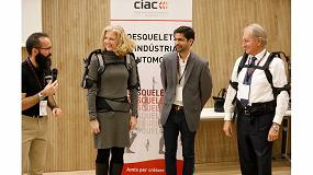 Foto de El CIAC explora el uso de exoesqueletos para prevenir lesiones en la industria del automóvil