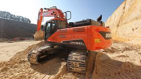 Foto de La excavadora Doosan DX300LC-5 gana el Premio al costo operativo más bajo por segundo año consecutivo