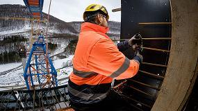 Foto de El sistema X-Lock de Bosch permite ahorrar tiempo en la construcción de uno de los puentes más altos de Europa