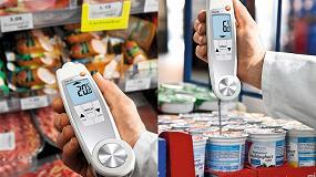 Foto de Termómetro de doble acción de Testo para el sector alimentario