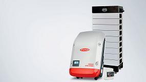 Foto de Fronius Symo Hybrid compatible con BYD Battery-Box HV mediante una sencilla actualización de software