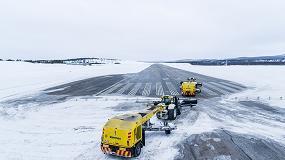 Foto de Valtra y Nokian Tyres colaboran en un proyecto de retirada autónoma de nieve