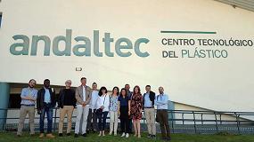 Foto de Investigadores de cuatro países participan en la reunión de seguimiento del proyecto europeo GraFood, celebrada en la sede de Andaltec
