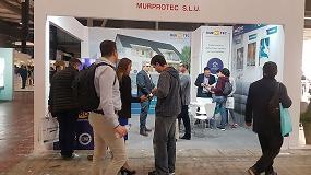 Foto de Murprotec, presente en el salón internacional Barcelona Building Construmat